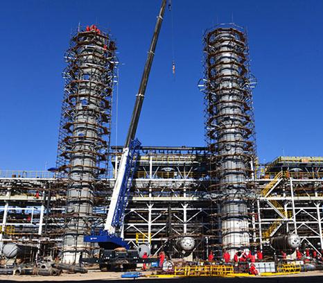 扬子石化公司大扬巴工程 江苏金桐石化有限公司 青海格尔木炼油厂